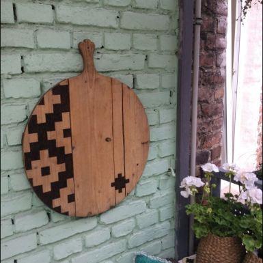 DIY Wanddeko Balkon